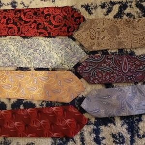 Other - 7 Floral/Paisley Neck Ties
